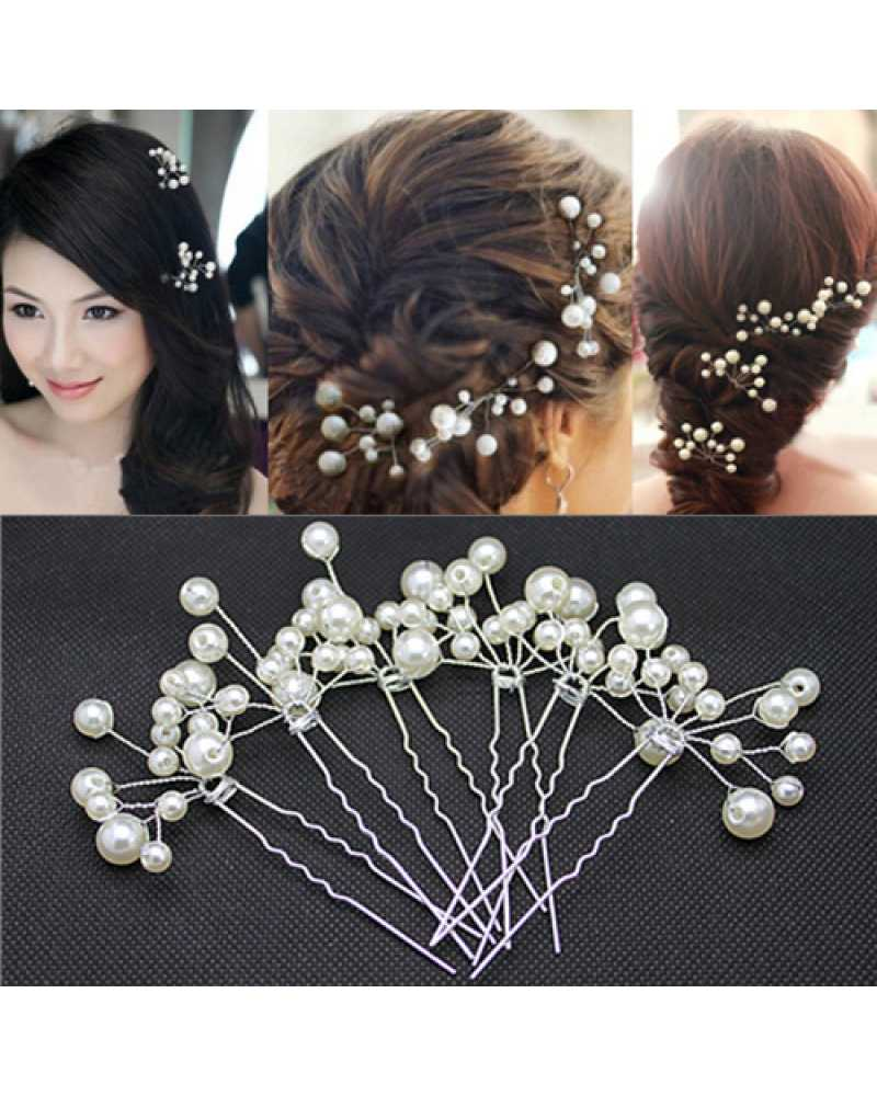 Pearl Bridal Hair Pins