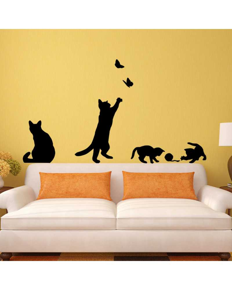 Awesome Cat Wall Decor Contemporary - The Wall Art Decorations ...