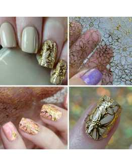 3D Flower Nail Stickers