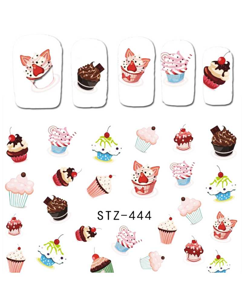 Fruit Cake Nail Stickers