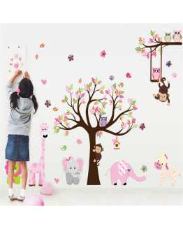 Jungle Playroom Wall Sticker
