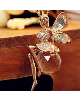 Women Fairy Rhinestone Party Pendant