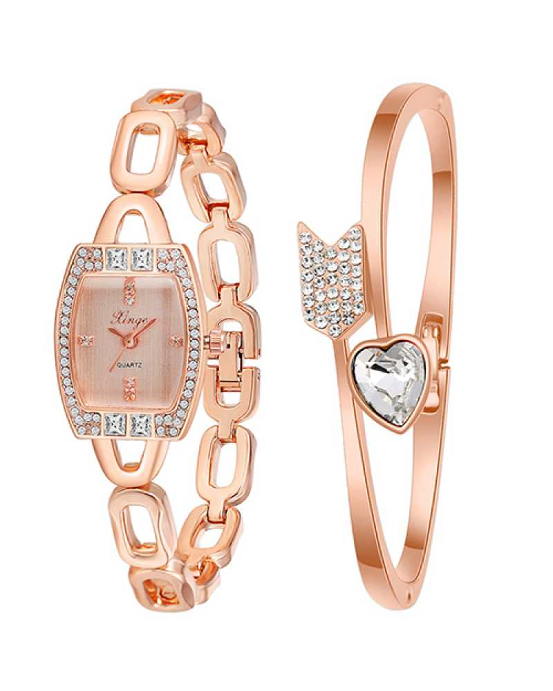 Arrow Heart Women Wrist Watch