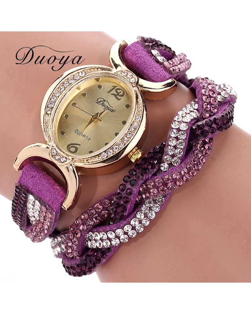 Designer Crystal Women Spunky Watch