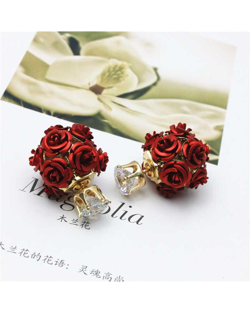Multi Rose Lovely Earrings