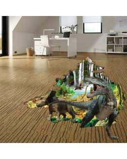 3D Dinosaur Wall and Floor Stickers
