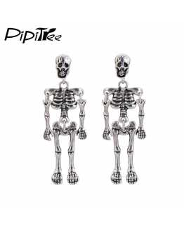 Skeleton Skull Vintage Exotic Earrings