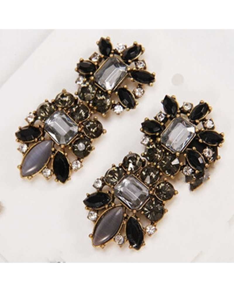 Black Exotic Earrings