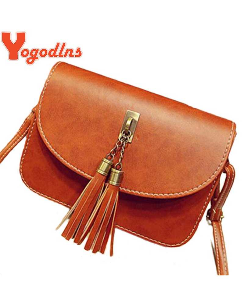 2017 Vintage Leather Women Mini / Cross Body Bag