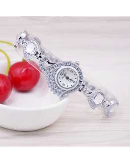 Swan Crystal Women Wrist Watch