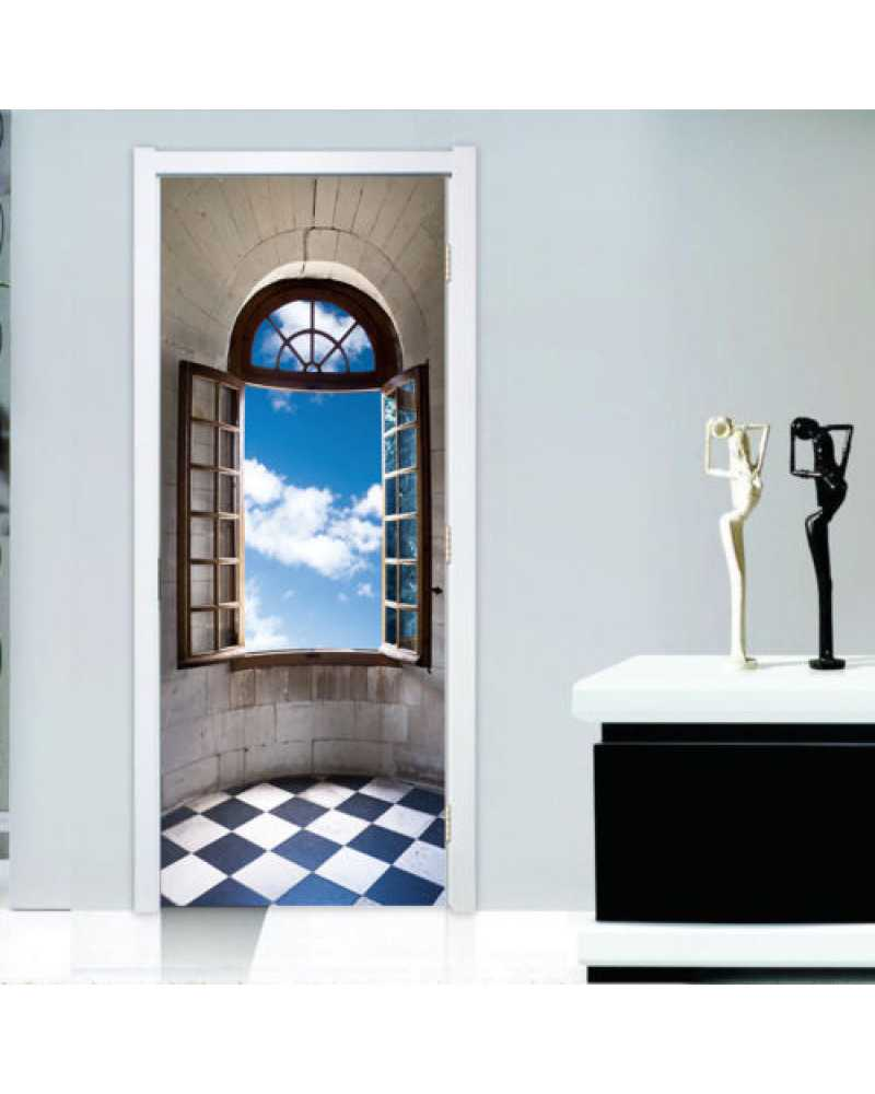 3D Window Wall Sticker