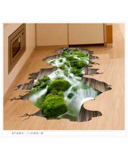 3D Nature Floor Stickers