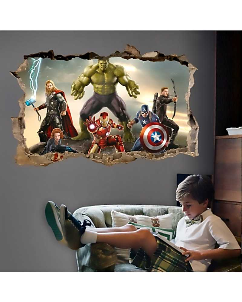 3D The Avengers Wall Stickers