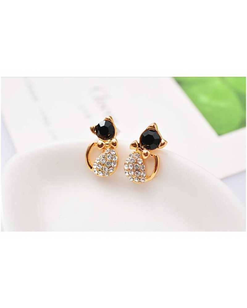 Kitty Gem Lovely Earrings