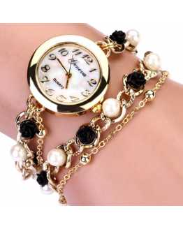 Black and White Women Spunky Watch