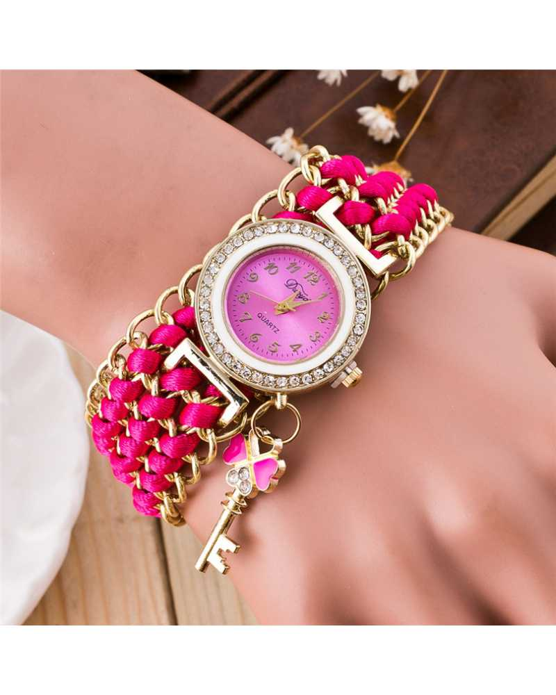 Fabric Trendy Women Spunky Watch