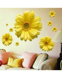 3D Daisy Wall Sticker
