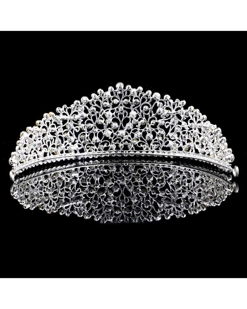 Diamante Pageant Tiara / Crown