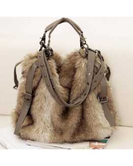 Hot And Luxury Fur Women Hand / Shoulder Bag