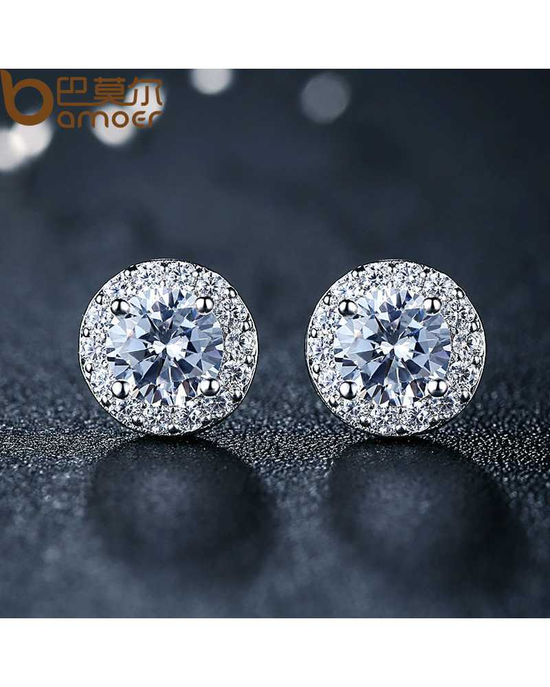 Hot Round Crystal Exotic Earrings