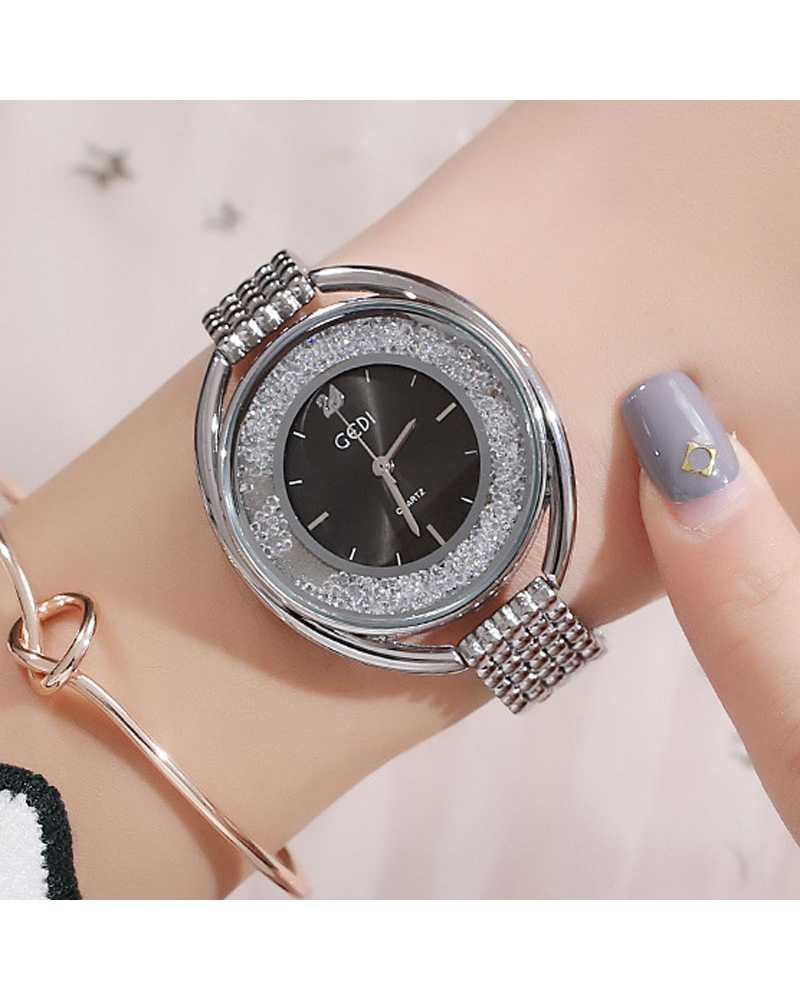 Stylish Diamond Women Wrist Watch