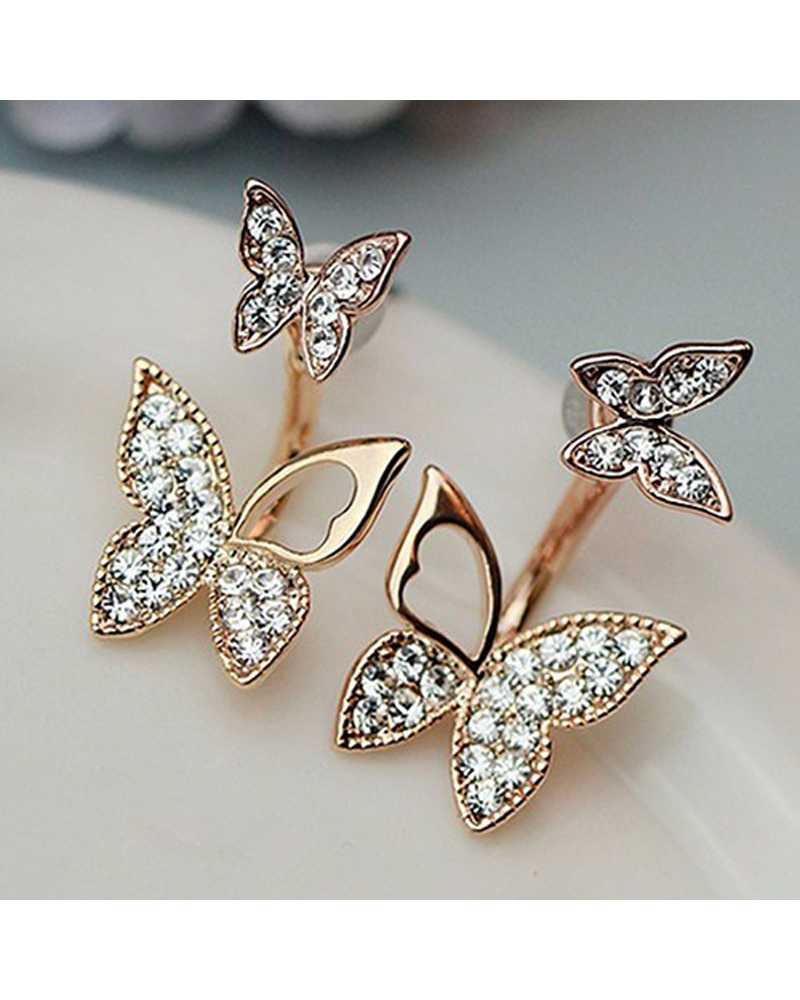 Two Butterfly Lovely Earrings