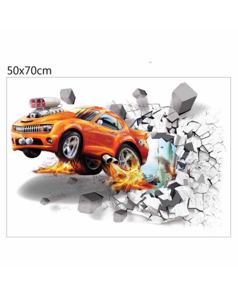 3D Car Wall Stickers