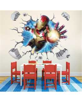 3D Ironman Wall Sticker