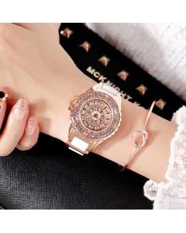 Hot Sexy Crystal Unique Ladies Watch