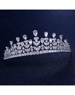 Cubic Zircon Tiara / Crown