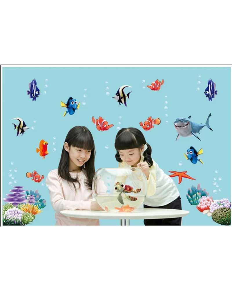 3D Finding Nemo Wall Stickers