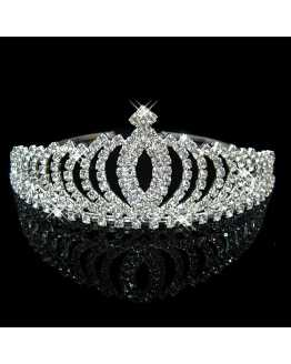 Rhinestone Crystal Tiara / Crown