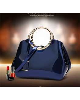 Hot Selling Patent Leather Women Hand / shoulder Bag