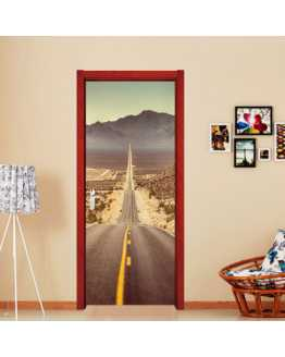 3D Road Wall Sticker