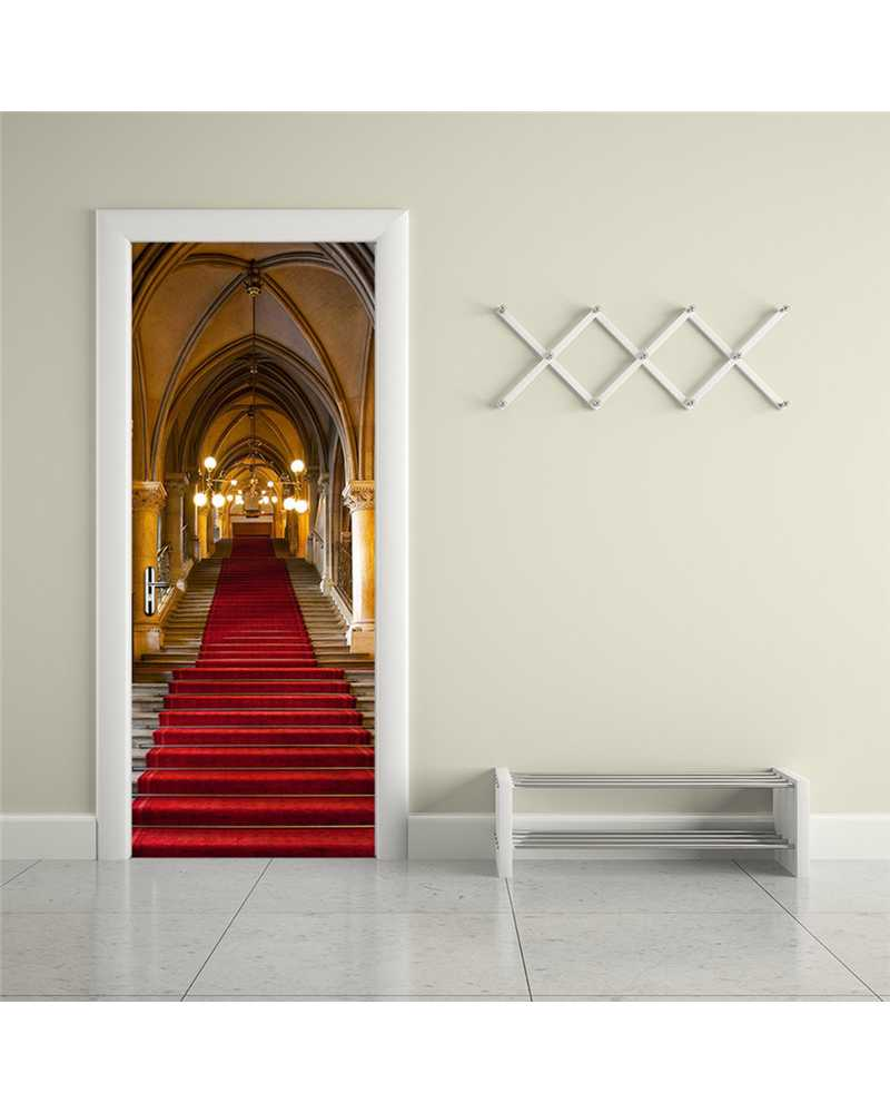 3D Holy View Waterproof Door Stickers