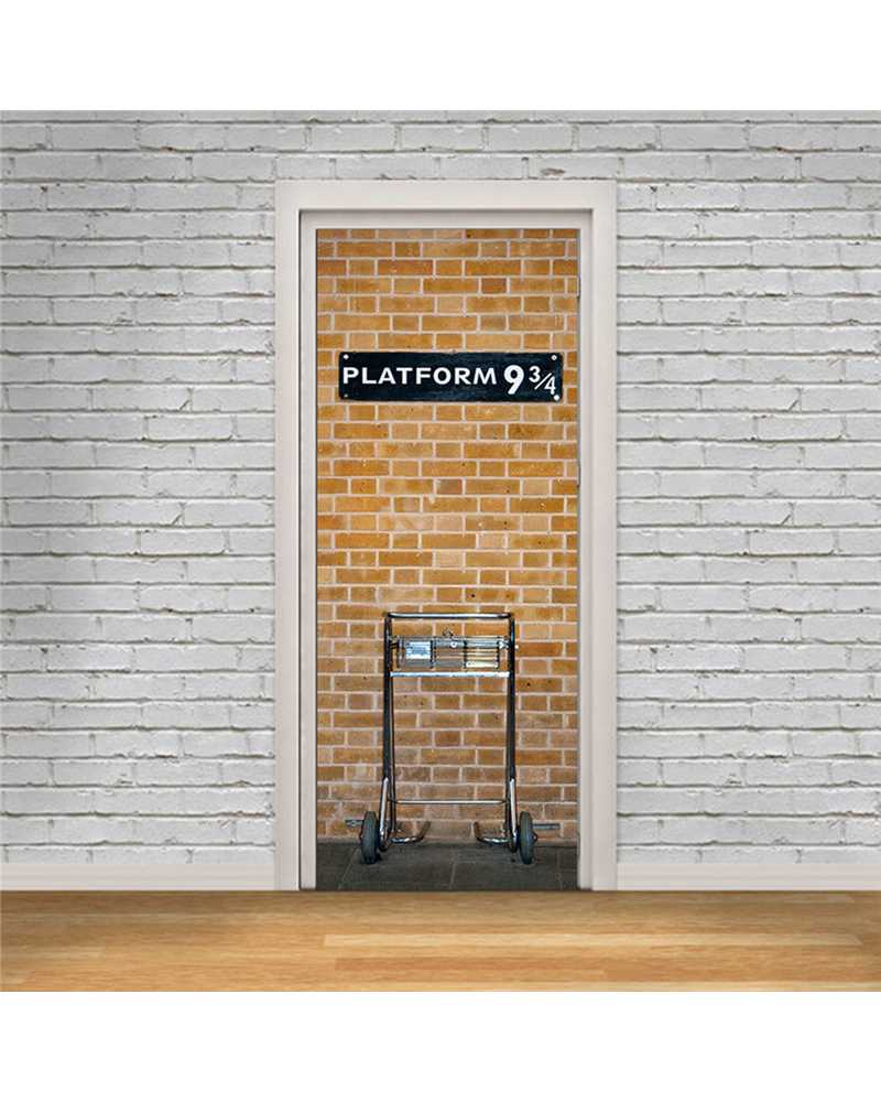 3D Harry Potter Waterproof Door Stickers