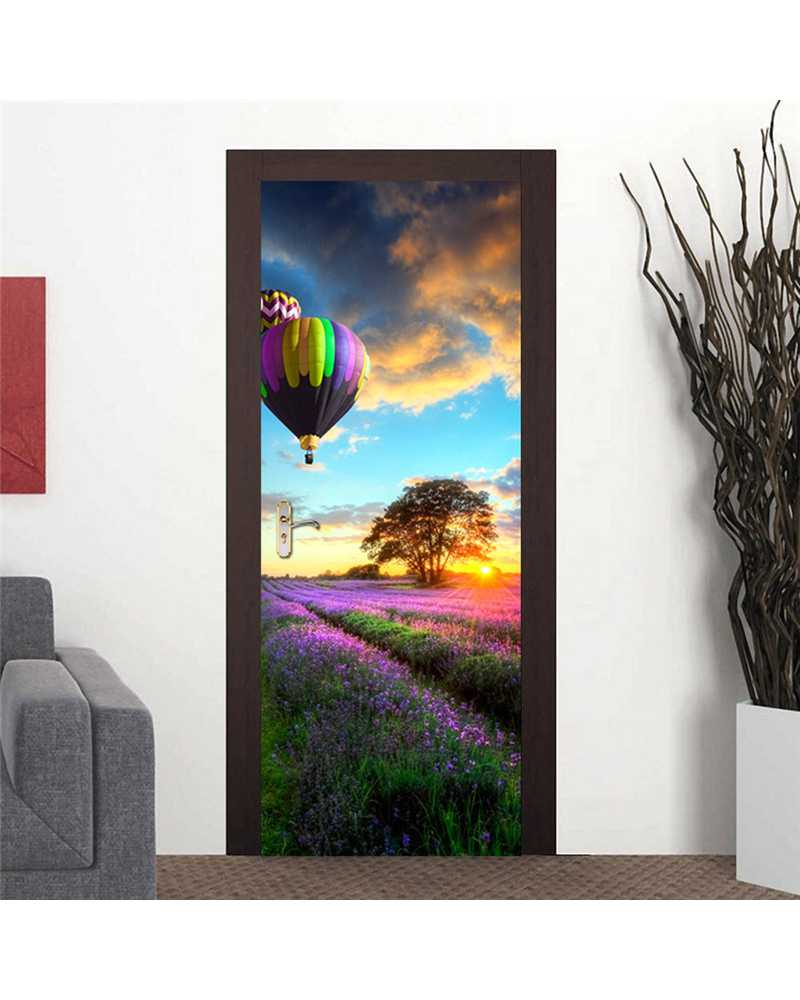 3D Amazing View Waterproof Door Stickers