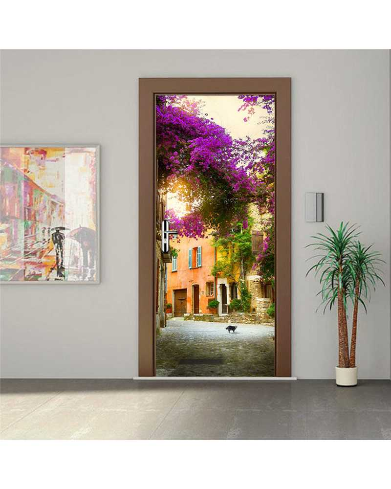 3D Awesome View Waterproof Door Stickers