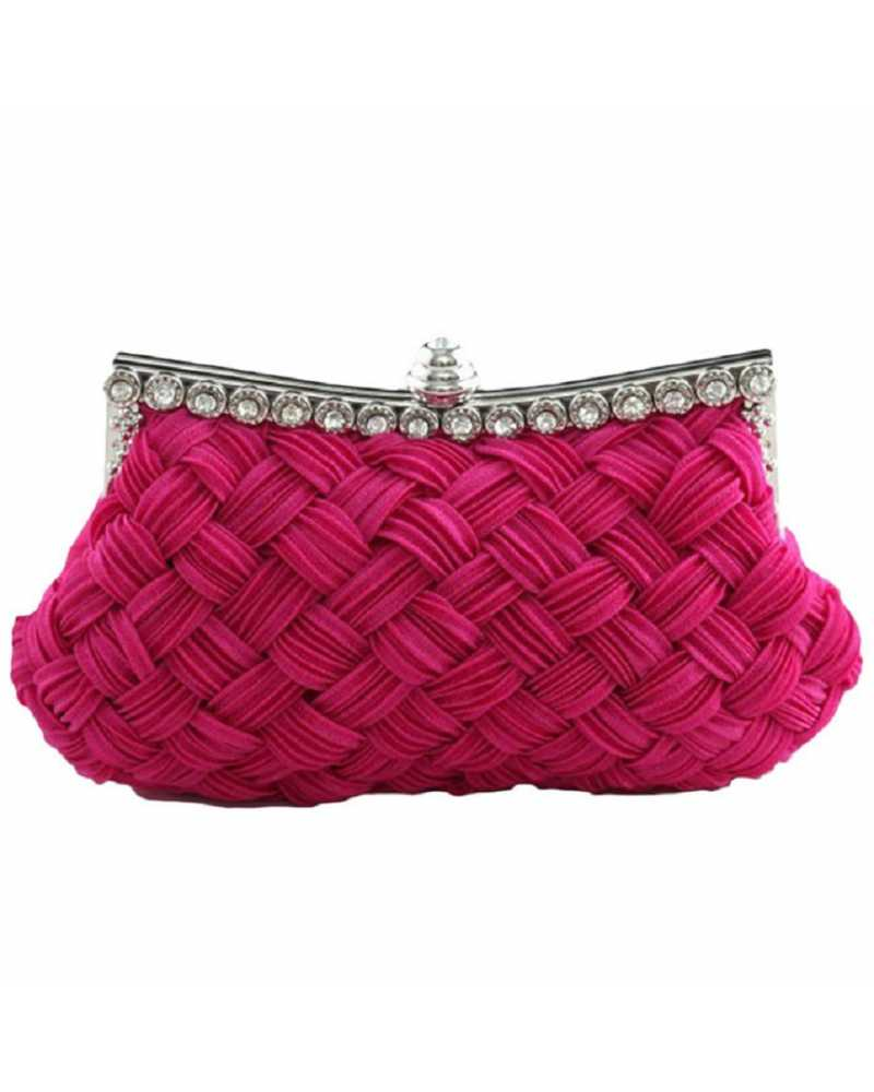 Satin Women Party Clutches / Mini Bag