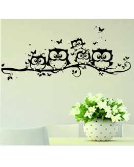 Own and Butterfly Wall Sticker