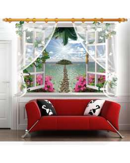 3D Beautiful Scenery Wall Stickers
